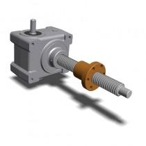 HR100 Max Force 100kN Gear Ratios 1:5-1:10 -1:30 Acme Screw 55x9